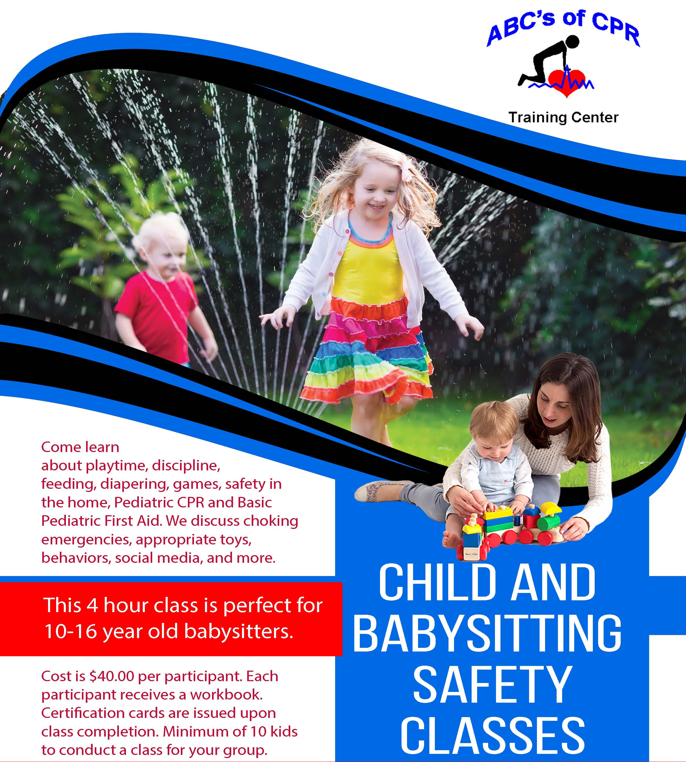 Child and Babysitting Safety Flyer (1)