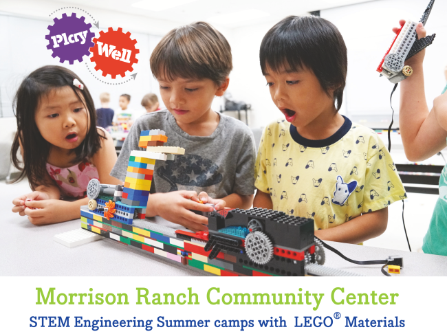Morrison Ranch Community  Center Summer 2019 Flyers