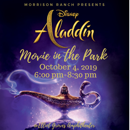 Aladdin Movie Night