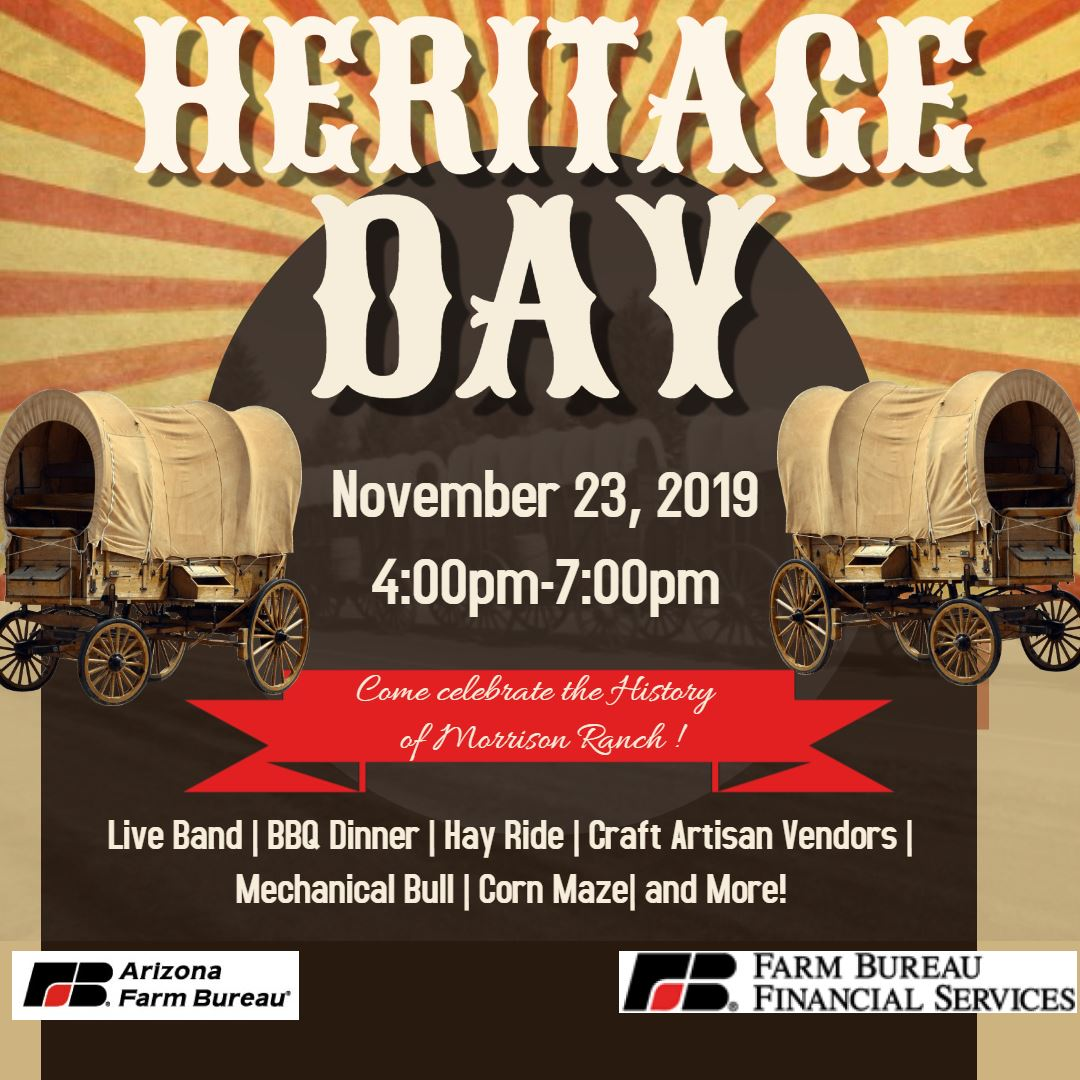 Heritage Day Flyer